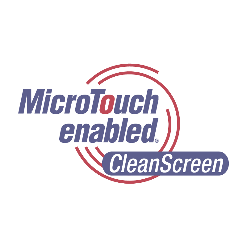 MicroTouch enabled vector logo