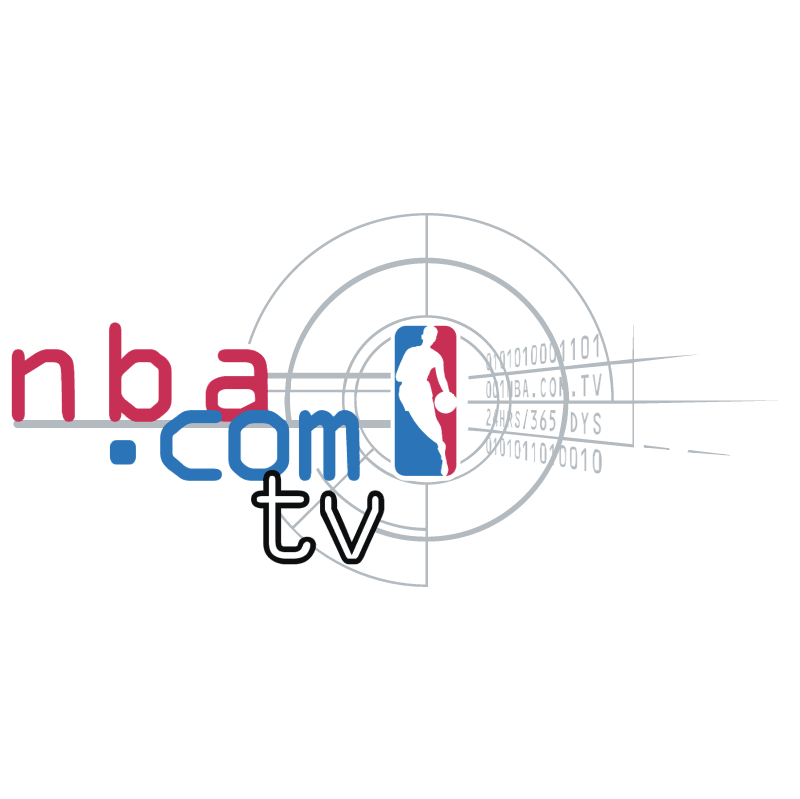 NBA com TV vector logo