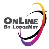 OnLine By LodgeNet vector
