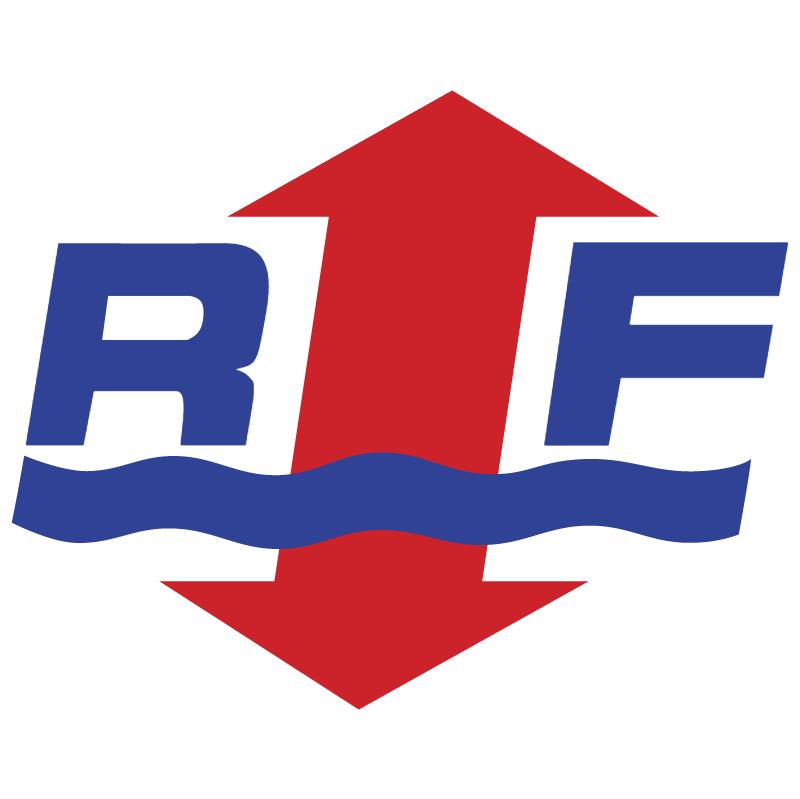 RF vector logo