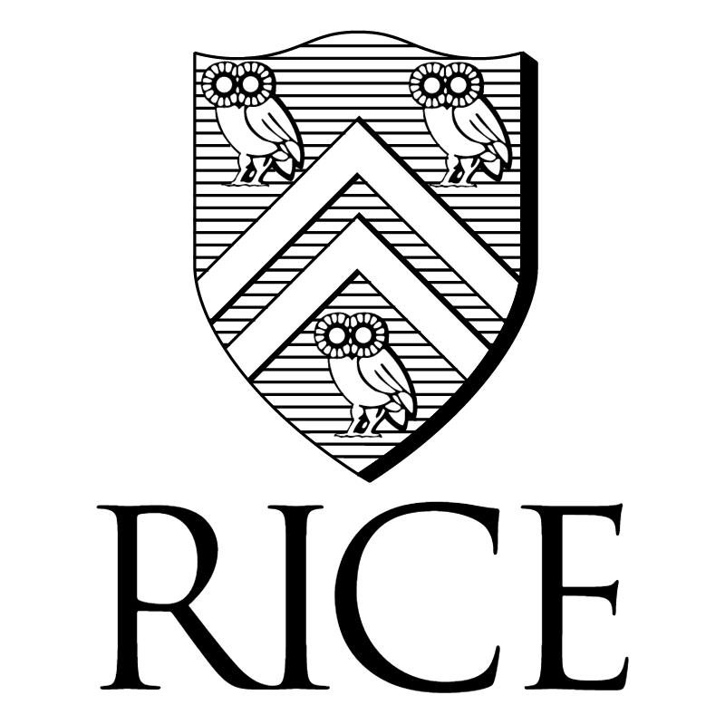 Rice University vector