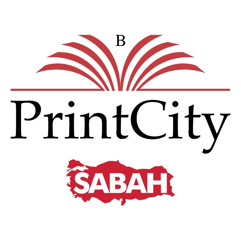 Sabah PrintCity vector