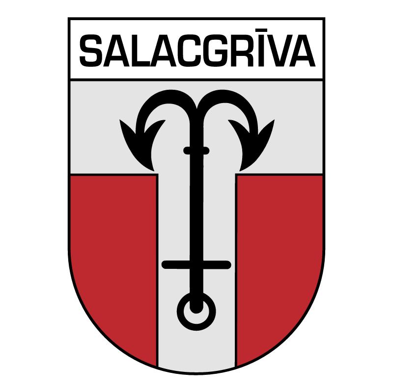 Salacgriva vector logo