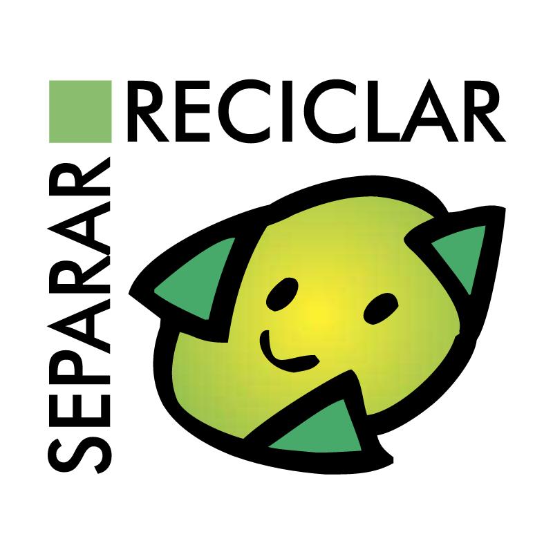 Separar Reciclar vector