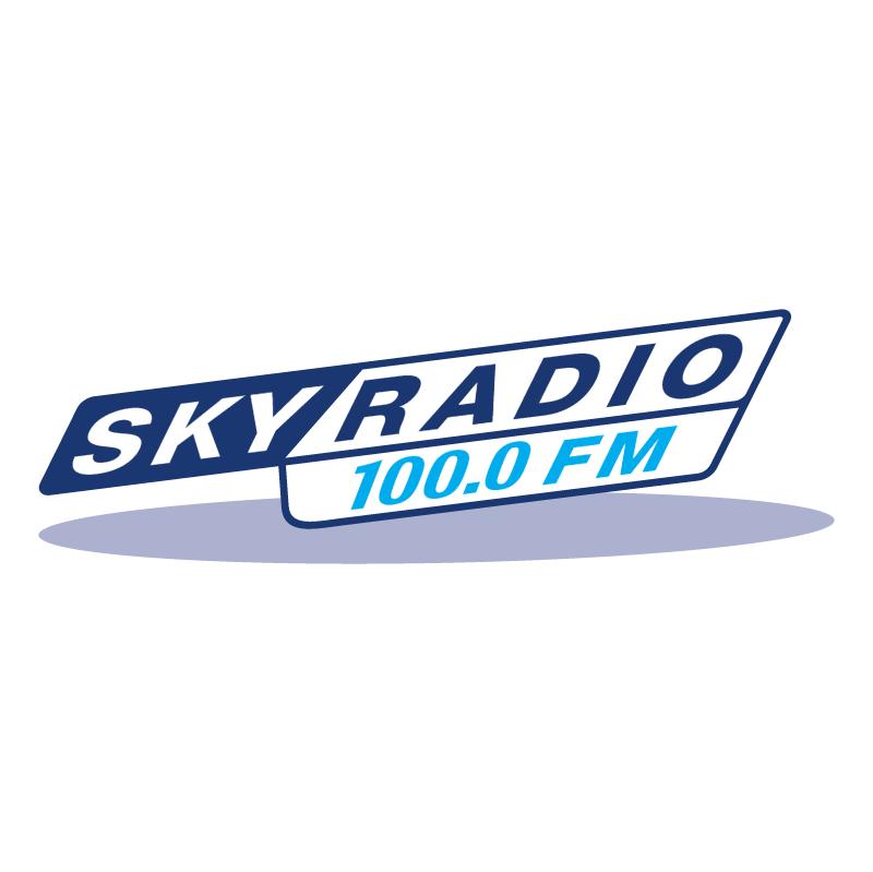 Sky Radio 100 0 FM vector