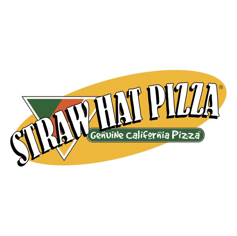 Straw Hat Pizza vector