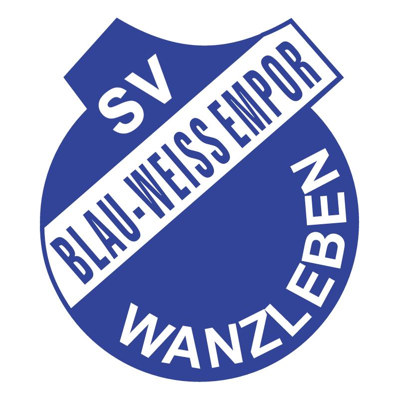 SV Blau Weiss Empor Wanzleben vector