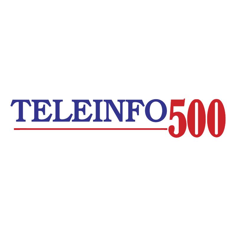 Teleinfo 500 vector