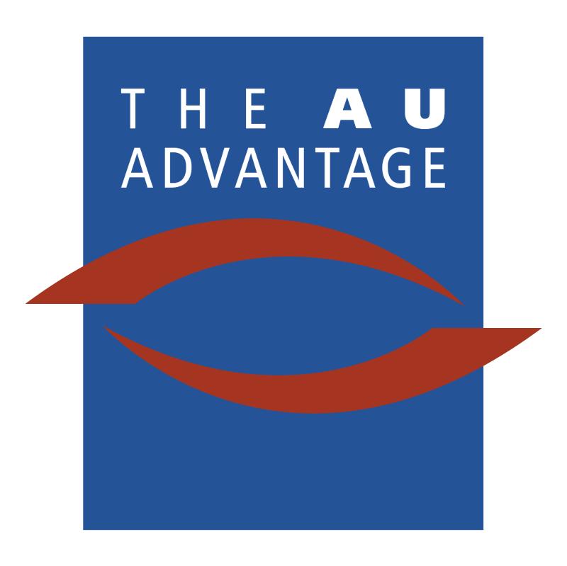 The AU Advantage vector logo