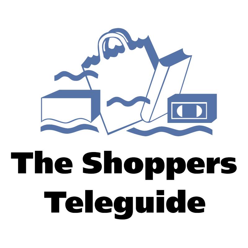 The Shoppers Teleguide vector