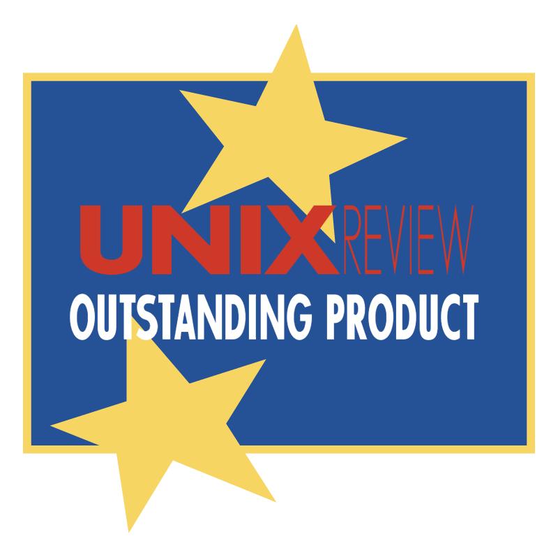 Unix Review vector logo
