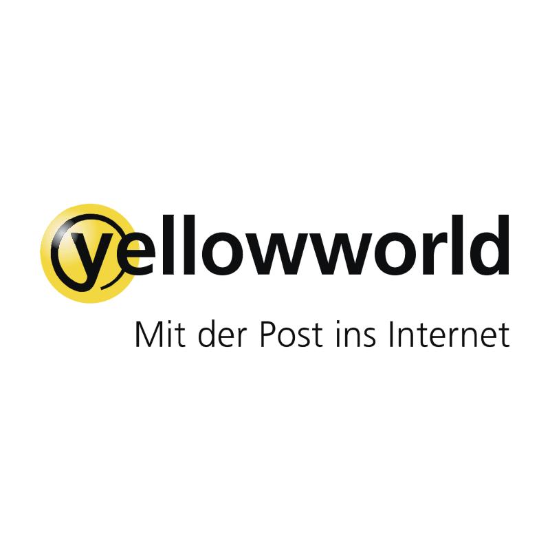 Yellowworld vector logo
