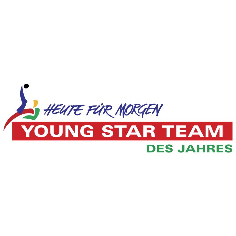 Young Star Team Des Jahres vector