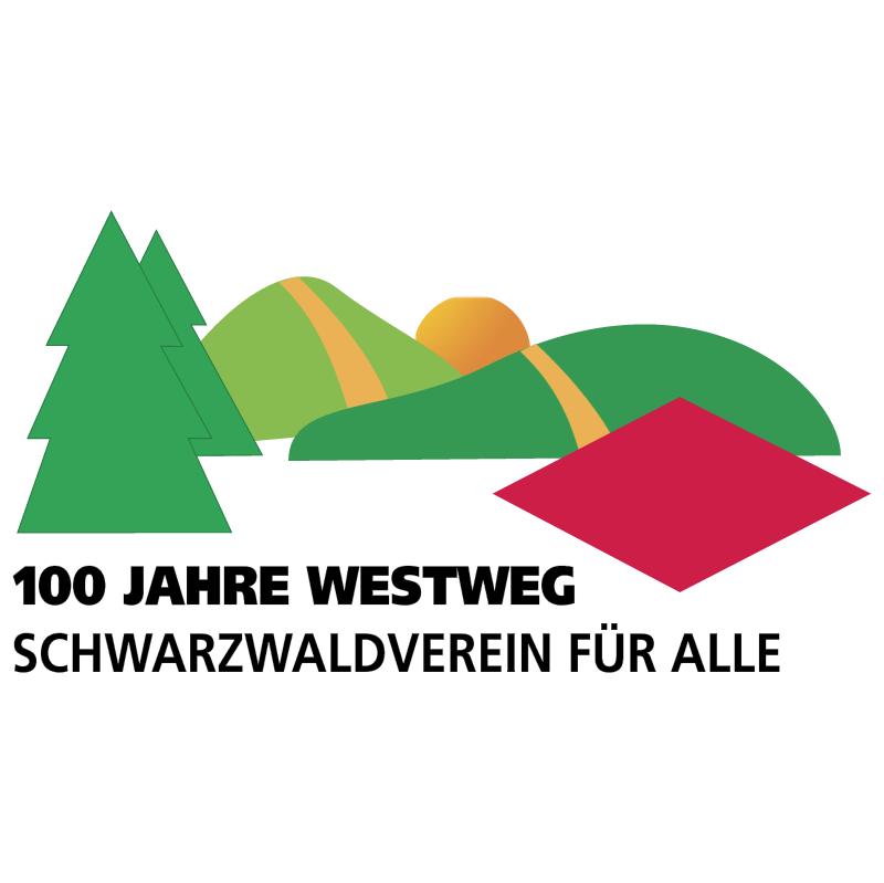 100 Jahre Westweg vector