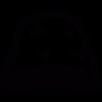 Camouflage helmet vector