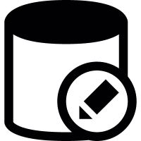 Database edit vector