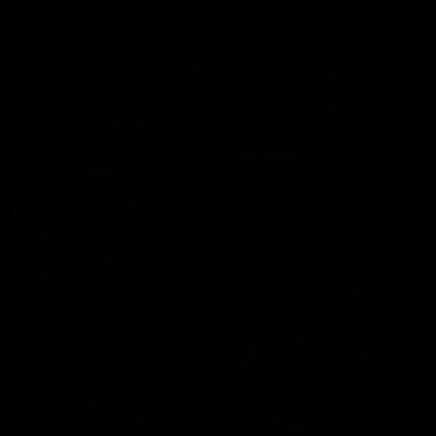 Recycling Arrows vector logo