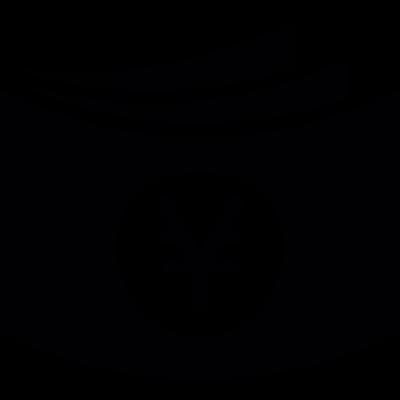Yens bills vector logo