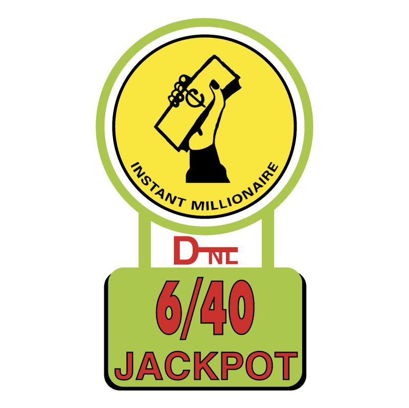 6 40 Jackpot vector
