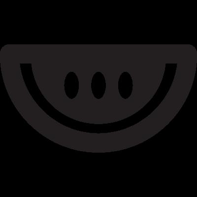 Water Melon Slice vector logo