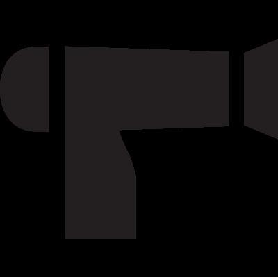 Hotel Hair Dryer vector logo