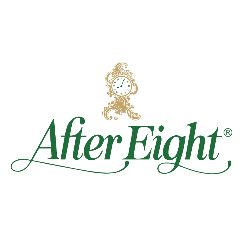 After Eight 63336 vector