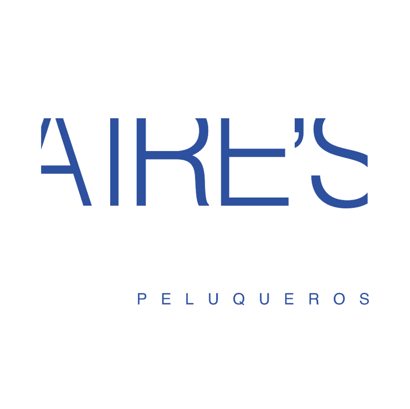 Aire's Peluqueros vector