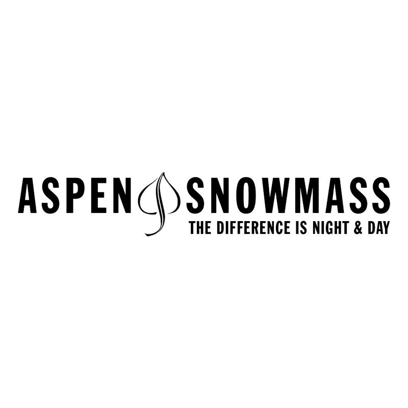 Aspen Snowmass vector