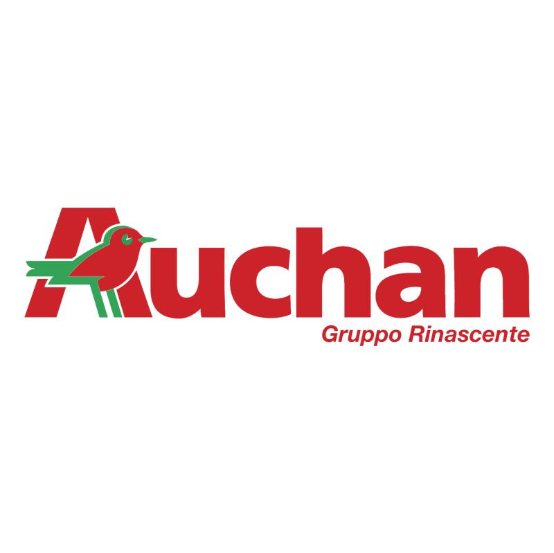 Auchan Gruppo Rinascente vector