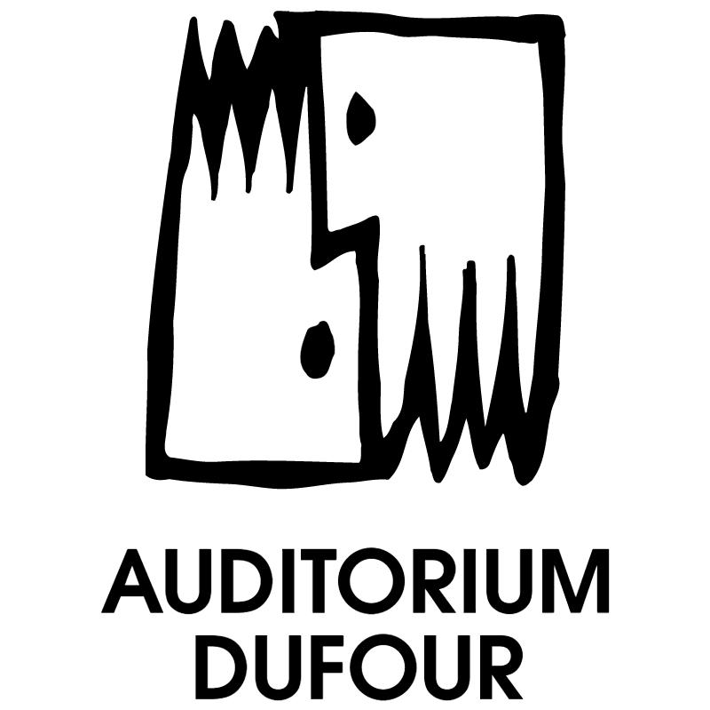 Auditorium Dufour 15093 vector