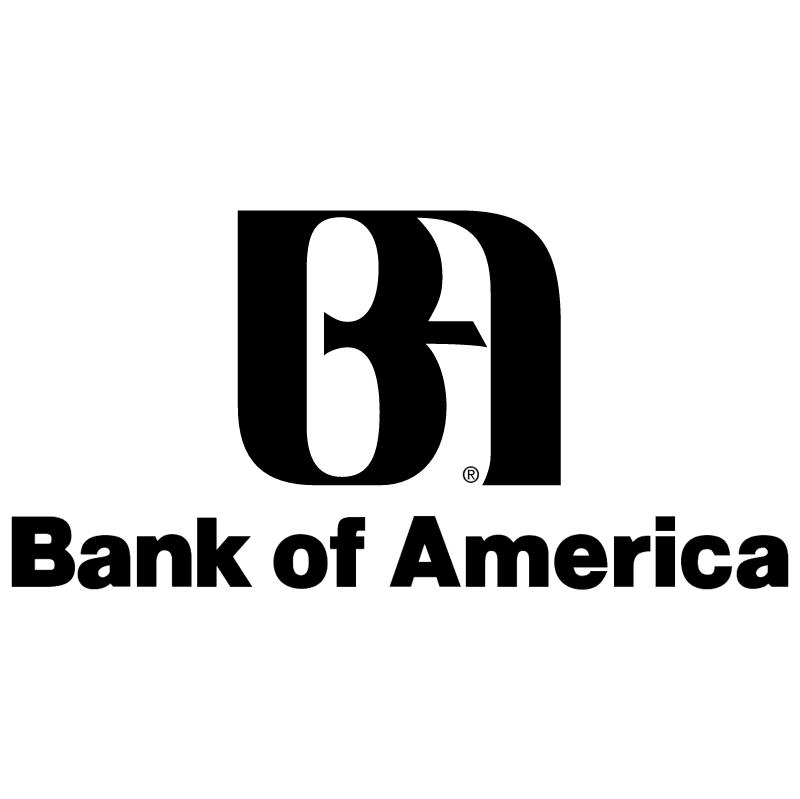 Bank of America vector logo