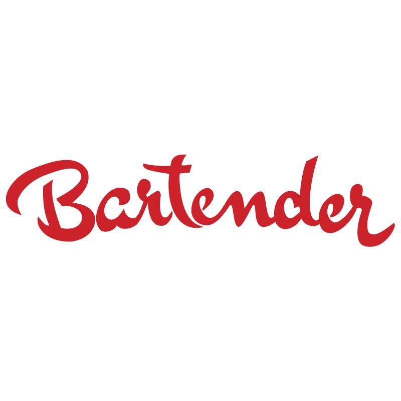 Bartender vector