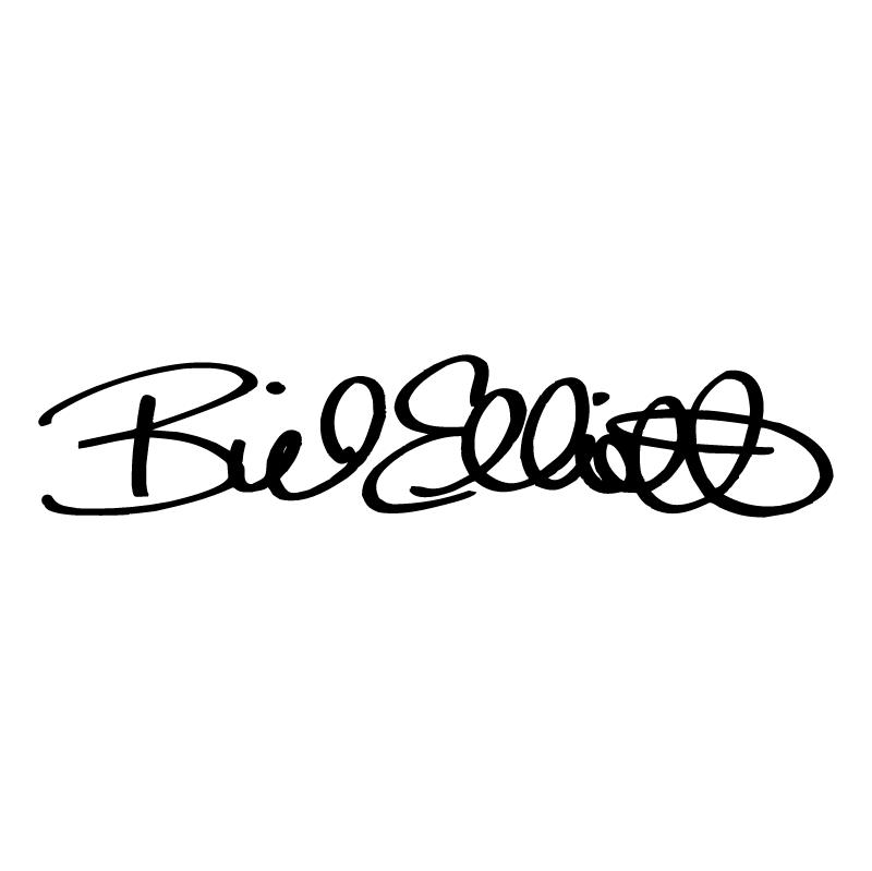 Bill Elliott Signature 83287 vector