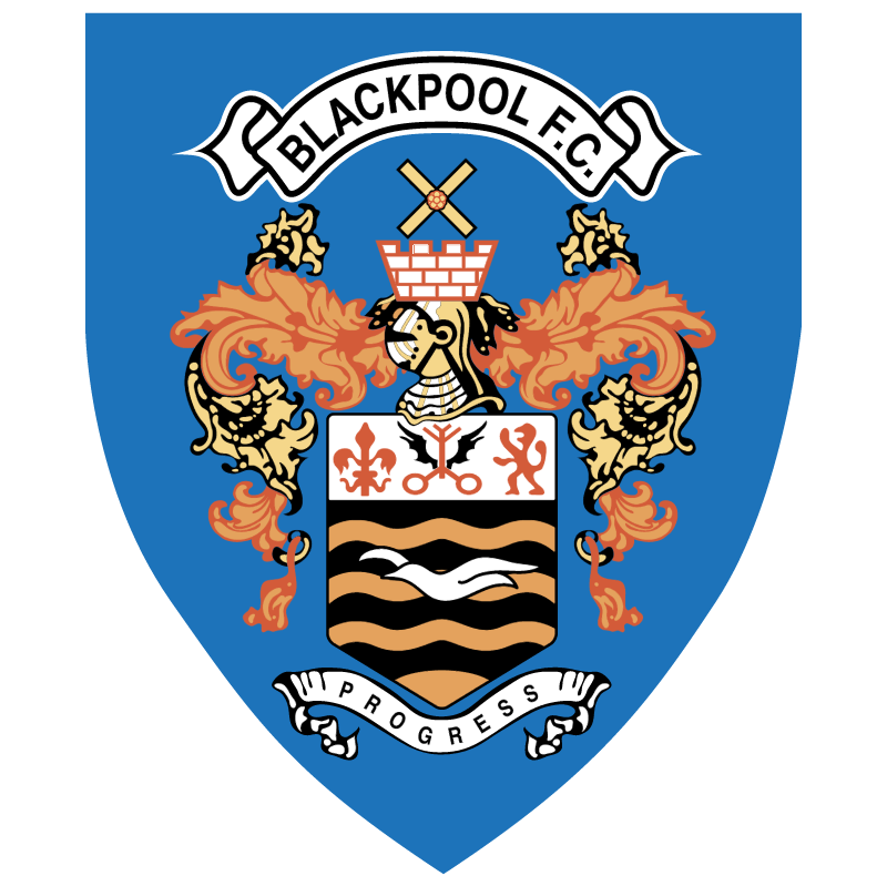 Blackpool FC 7817 vector