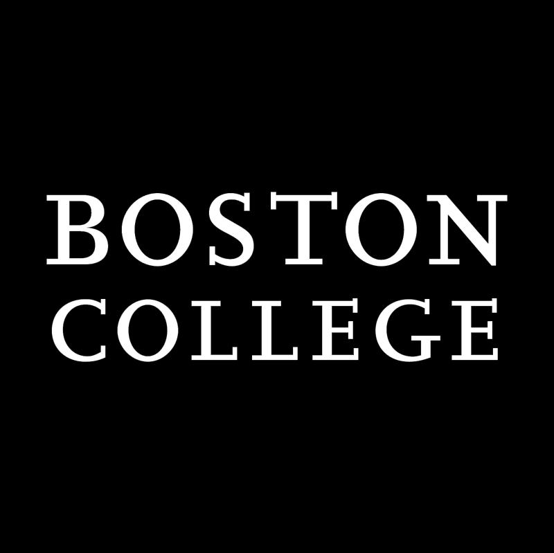 Boston College vector