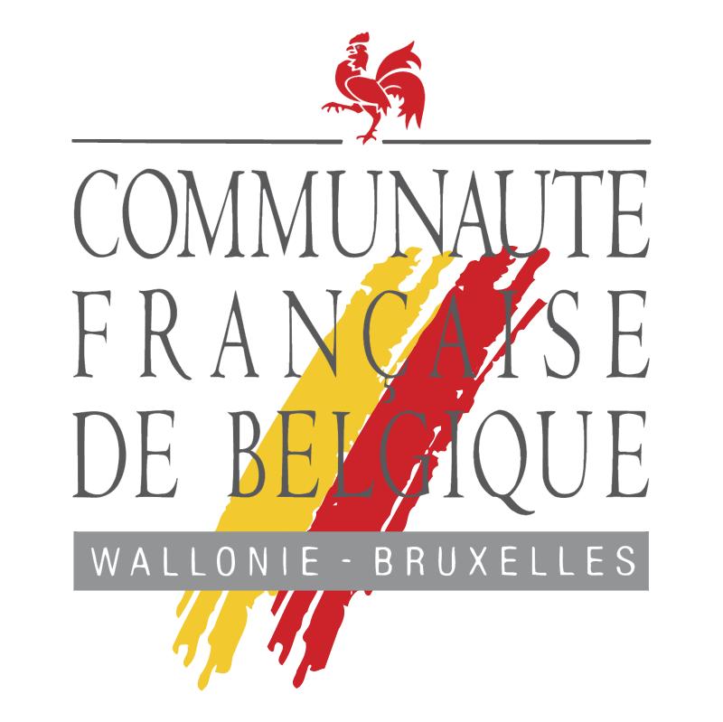Communaute Francaise De Belgique vector
