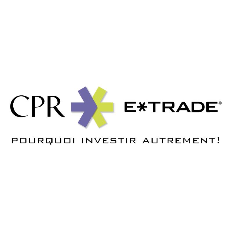 CPR E Trade vector