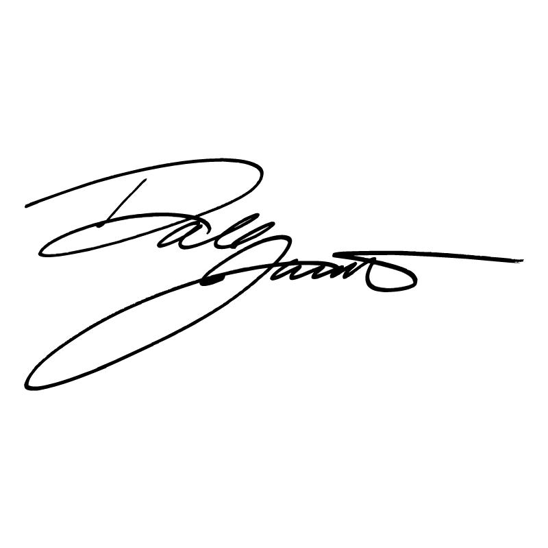 Dale Jarrett Signature vector