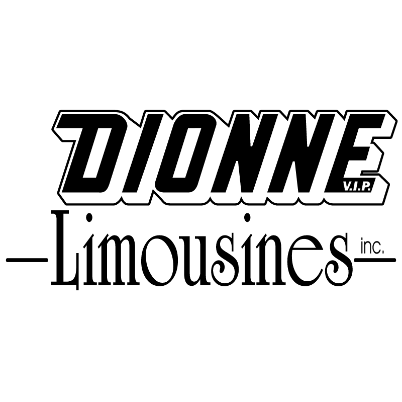 Dionne Limousines vector