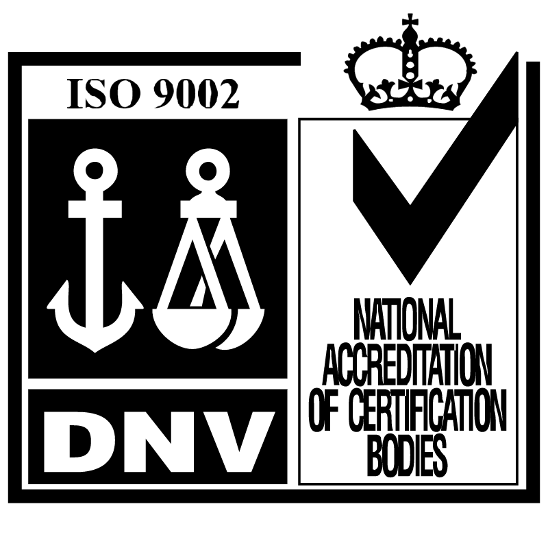 DNV National Accreditation of Certification Bodies vector