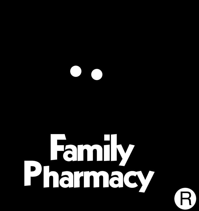 Family Pharmacy vector logo