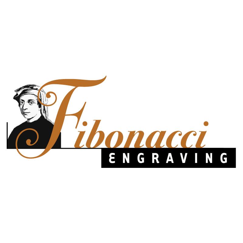 Fibonacci Engraving vector