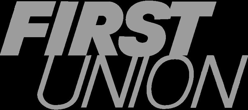 FIRST UNION BANK 2 vector logo
