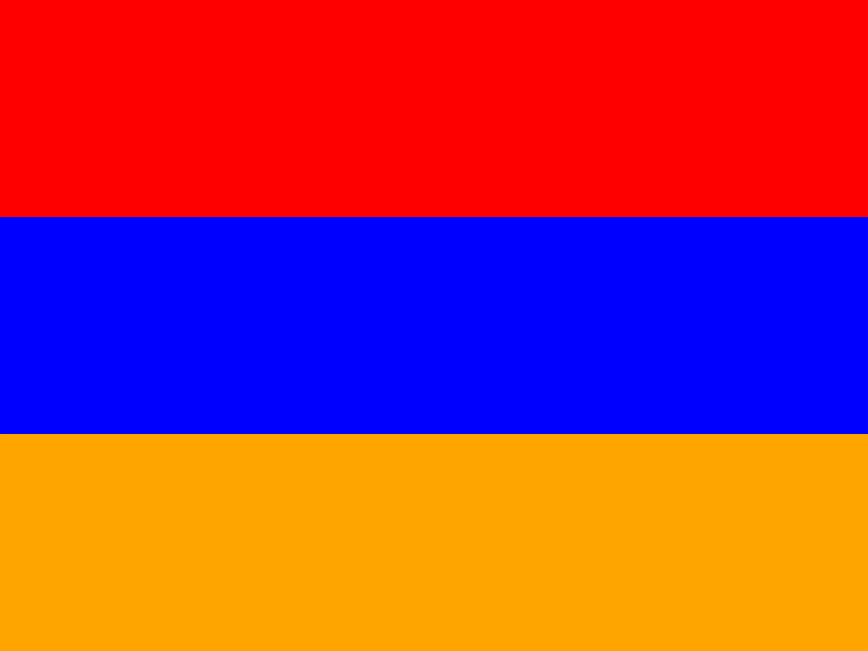 Flag of Armenia vector