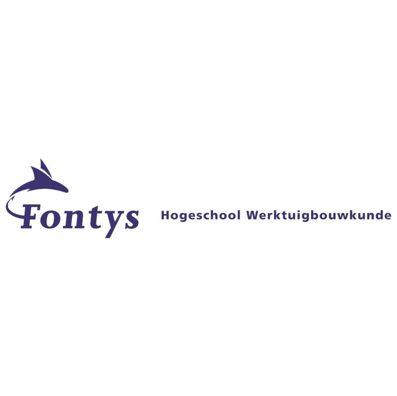 Fontys Hogeschool Werktuigbouwkunde vector
