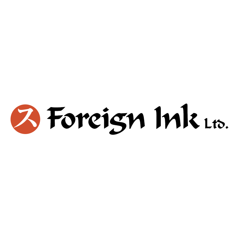 Foreign Ink vector