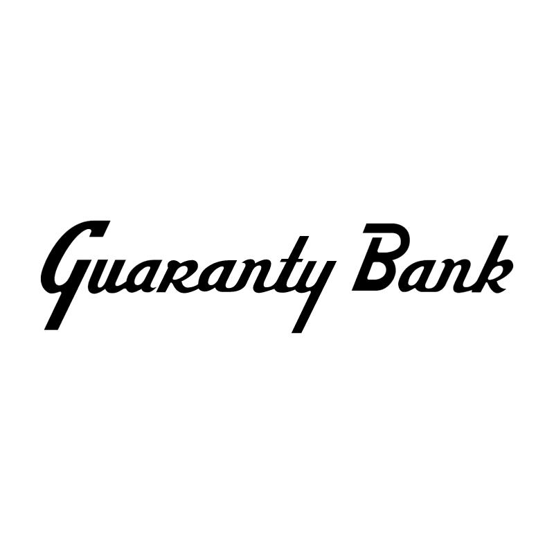Guaranty Bank vector logo