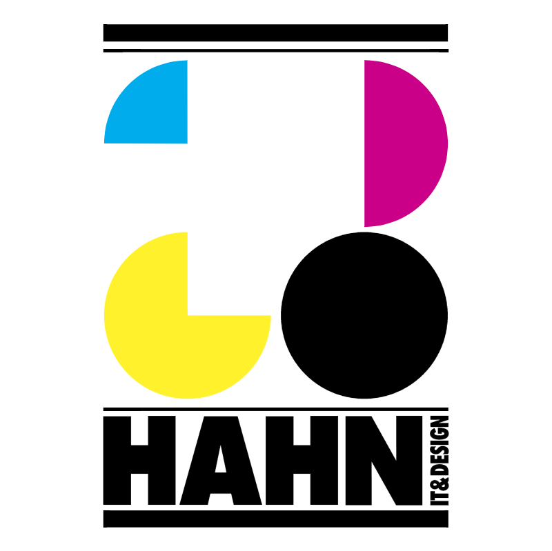 Hahn GmbH IT&design vector logo