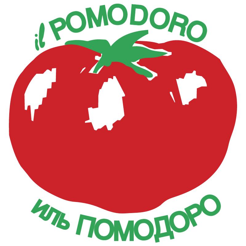 Il Pomodoro vector
