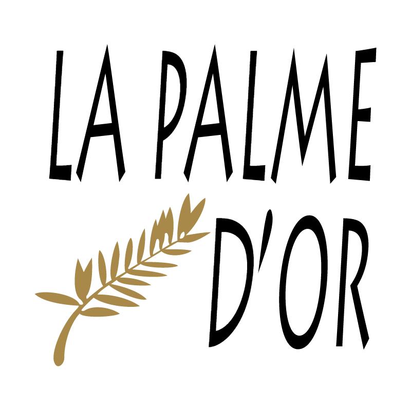 La Palme D'Or vector